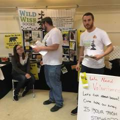 Royal Roads University students conduct a second-annual bear management survey for Wild Wise Sooke