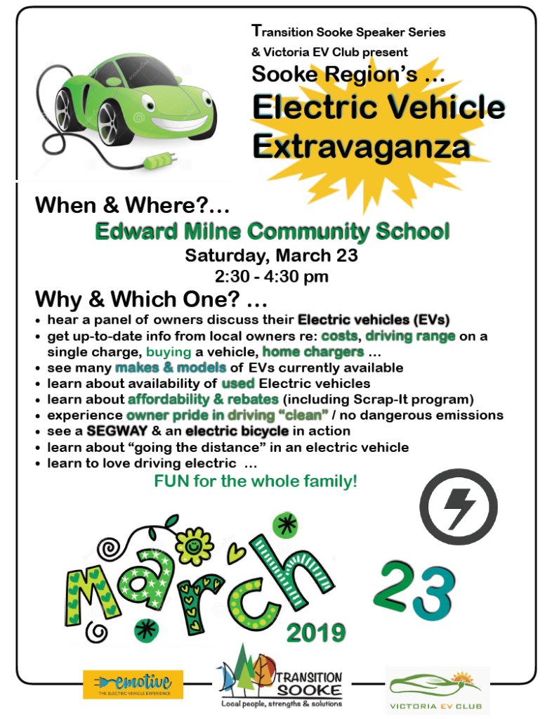 Poster for EV Extravaganza